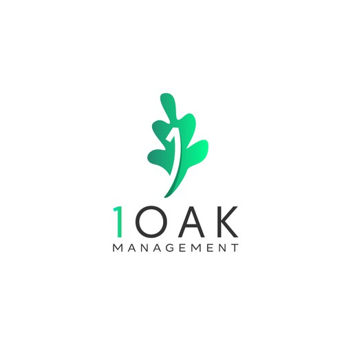 Oak leaf design with the title 'One Oak Management'