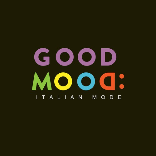 Aura logo with the title 'Good Mood logo'