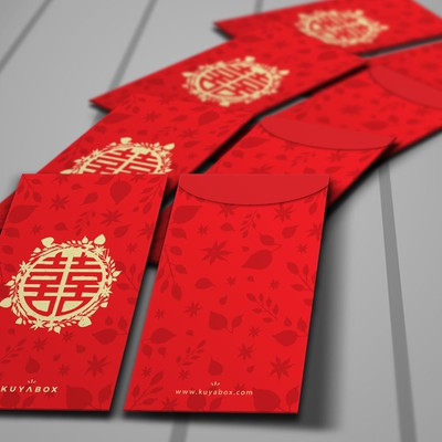 Traditional Envelope for Chinese Wedding