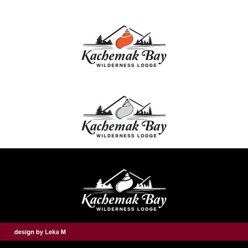 Alaska design with the title 'Kachemak Bay'