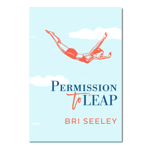 Self-help book cover with the title 'Will you help me leap into my book cover?'