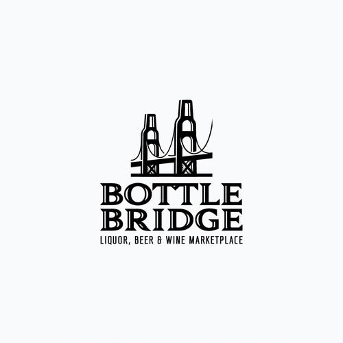 Moonshine logo with the title 'Bottle Bridge'