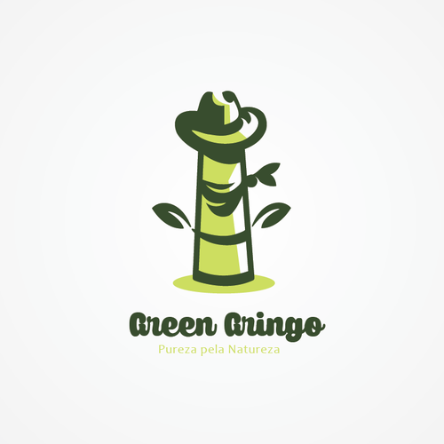 Bamboo logo with the title 'Green Gringo '