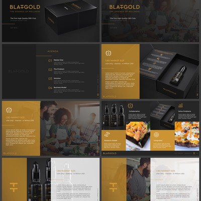 Template Design for Blattgold