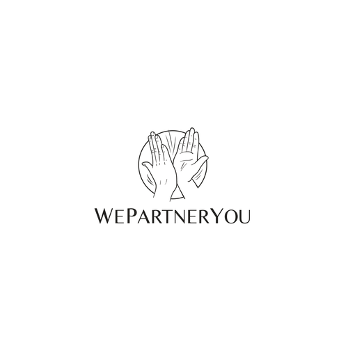 Alliance logo with the title 'Logo concept WePartnerYou'