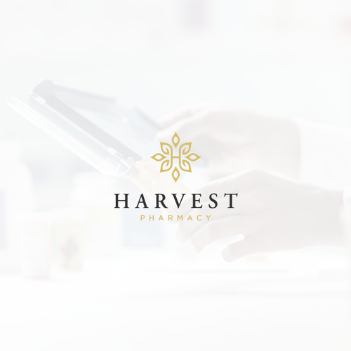 Harvest design with the title 'Harvest pharmacy'
