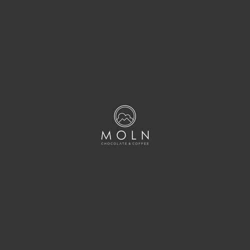 Art line design with the title 'MOLN'