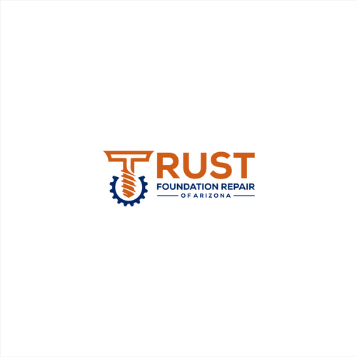 PNG design with the title 'Trust Foundation Repair of Arizona'