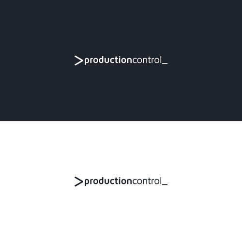 Automation design with the title 'PRODUCTION CONTROL'