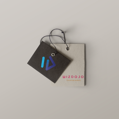 Dojo logo with the title 'Logo design for Wizdojo!'