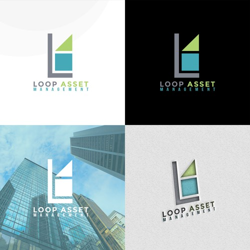 Asset design with the title 'Logo Proposal for LAM'