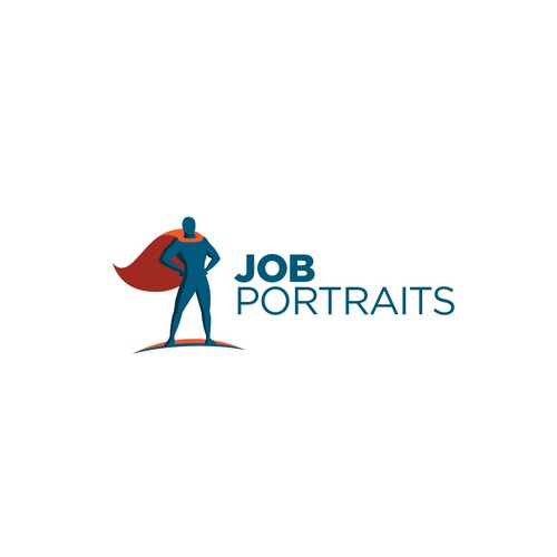 Hero logo with the title 'Job Portraits'