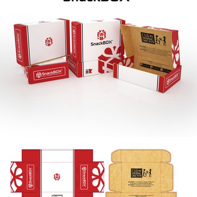 Product Packaging For SnackBox