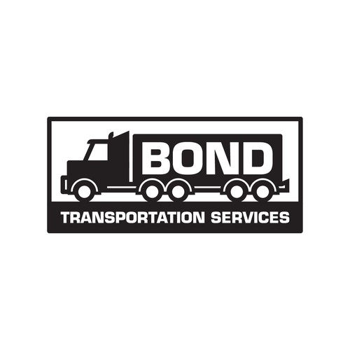 Transportation logo with the title 'Logo for transport company'