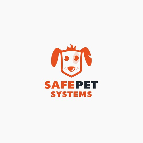 Safe design with the title 'Logo for pet service '