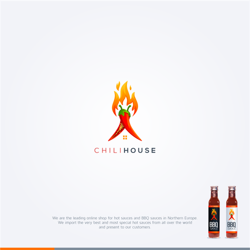 Hot logo with the title 'Chilihouse'