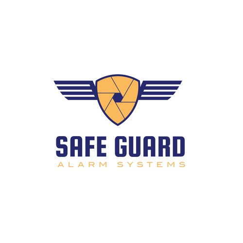 Vault design with the title 'Bold logo for security company'