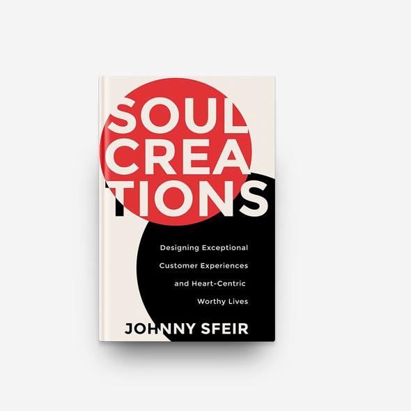 Unique book cover with the title 'Book Cover Design'