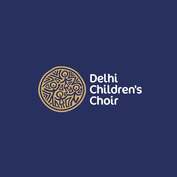 Gospel logo with the title 'Delhi Children's Choir'