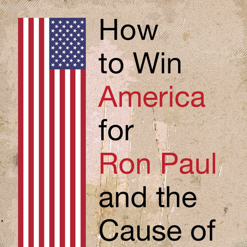 Political book cover with the title 'Political book cover'