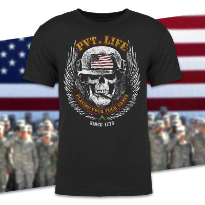Patriotic Millitary T-shirt