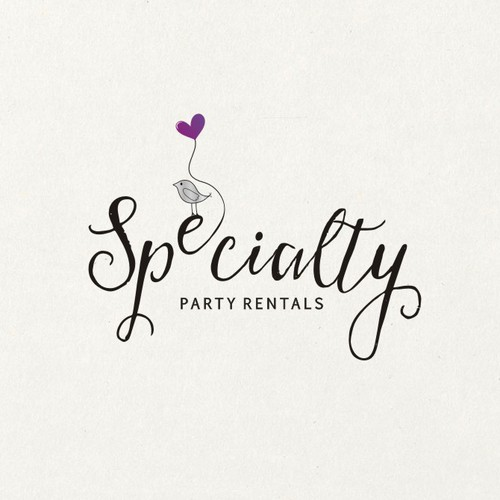 Party logo with the title 'SPECIALTY PARTY RENTALS'