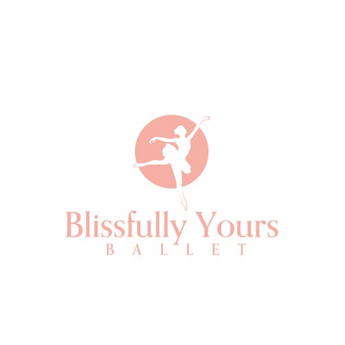 Dance school logo with the title 'Bring Bliss into Ballet'
