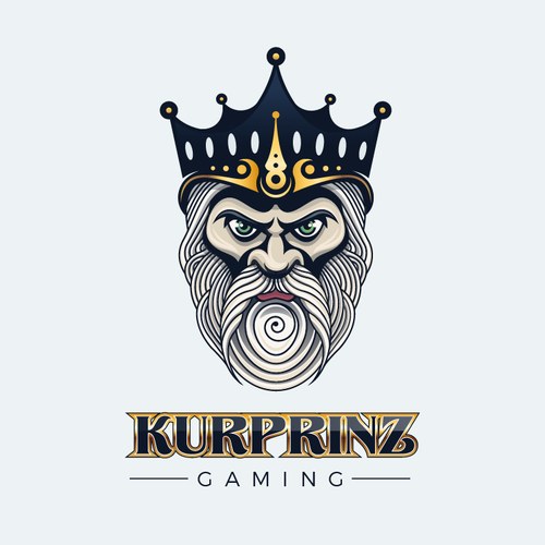 Casino logo with the title 'King Logo'