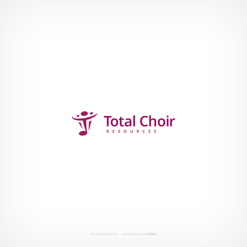 Resource logo with the title 'Logo concept for choir leaders training company'