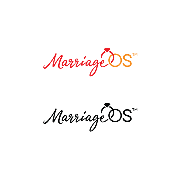 Marriage logo with the title 'MarriageOS'