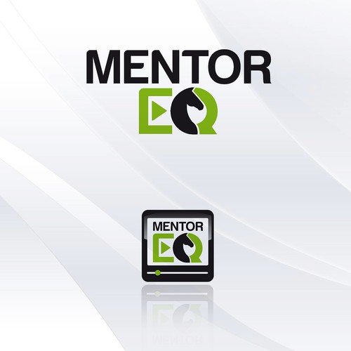 Training logo with the title 'Video technology logo for Mentor EQ'