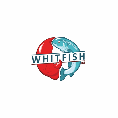 Animal claw logo with the title 'Eyecatching logo for whitfish ltd'