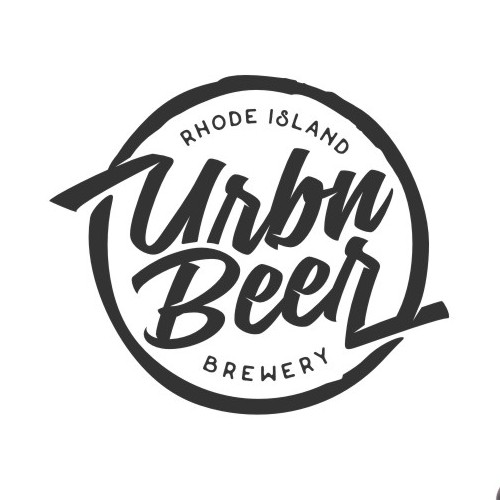 Brewing company logo with the title 'Logo Concept for URBN Beer - Brewery'