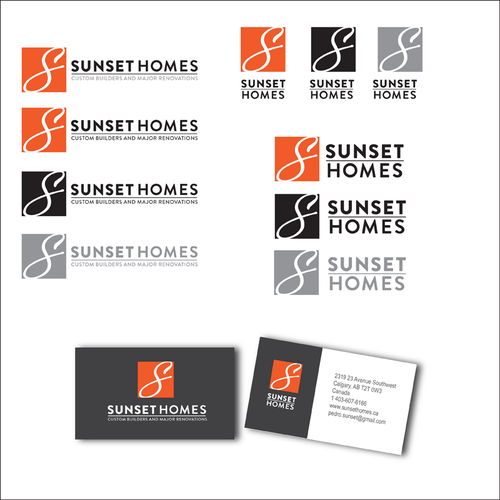 Builder logo with the title 'Logo design for home builders in Calgary, Canada.'