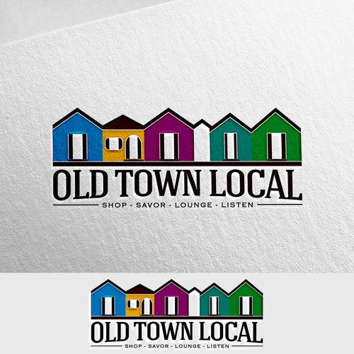 Shop brand with the title 'Design an eclectic Shopping Center Logo'
