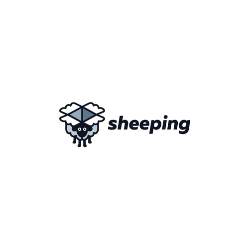 Crate logo with the title 'Sheeping'