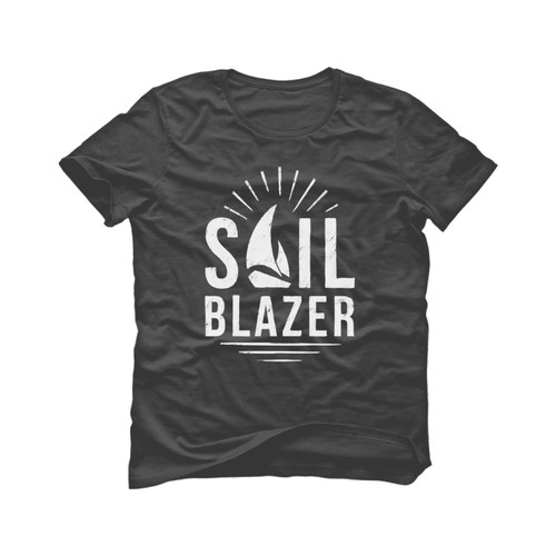 Ocean t-shirt with the title 'Sail Blazer T shirt design'