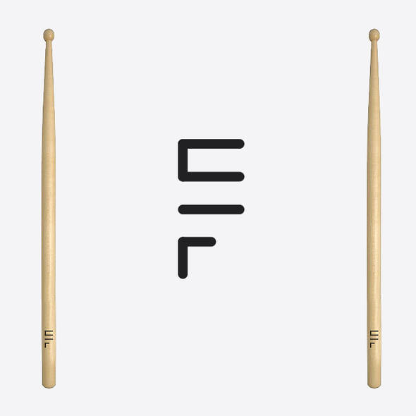 Drummer design with the title 'Sal Ferrari'