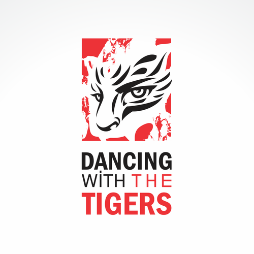 Bengal tiger logo with the title 'tiger'