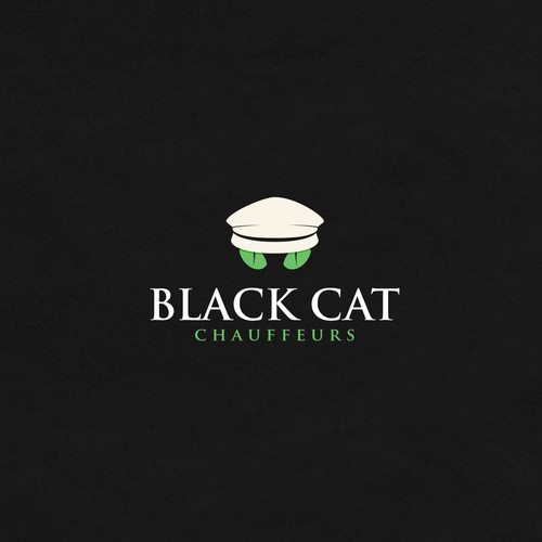 Panther design with the title 'Black cat'
