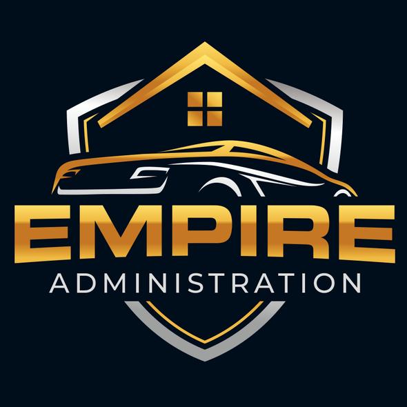 Automotive design with the title 'Automotive logo'