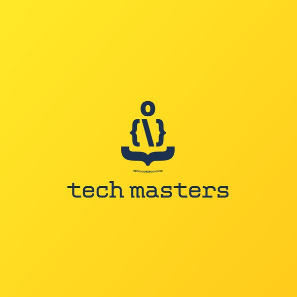 Master design with the title 'Tech Masters'