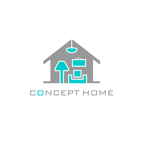Home logo with the title 'Concept Home'