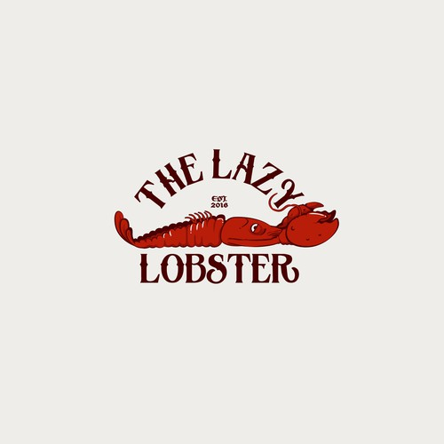 Sketchbook logo with the title 'The Lazy Lobster'