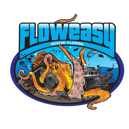 Florida design with the title 'Help Floweasy with a new logo'