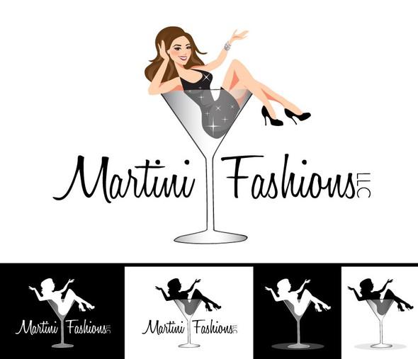 Martini logo with the title 'Martini Fashions, LLC needs a new logo'