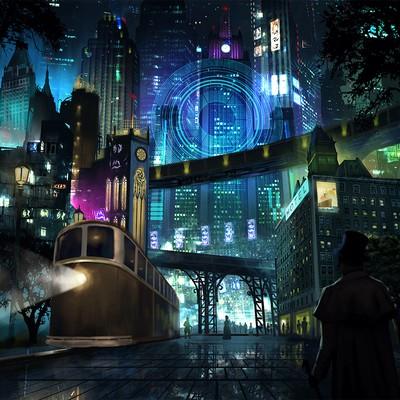 cyberpunk sci fi