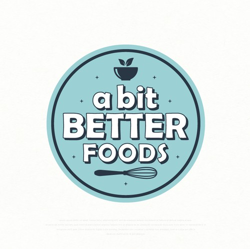 Healthy logo with the title 'Logo design for sweet products'