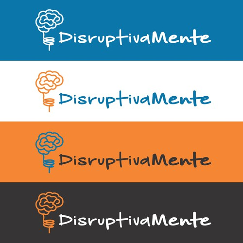 Disruptive design with the title 'Logo - DisrusptivaMente'