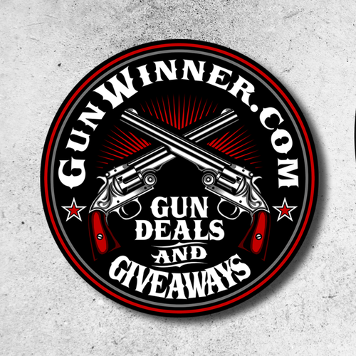 Tactical design with the title 'Logo design for Gunwinner'